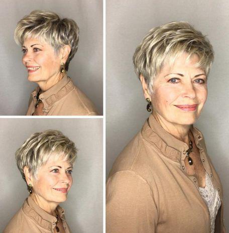 Tagli capelli corti 2019 donne over 60